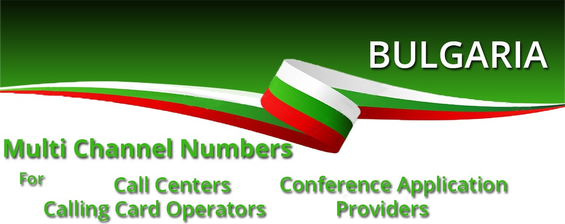 Bulgaria DID Number |unlimited channels | Bulgaria Virtual PRI