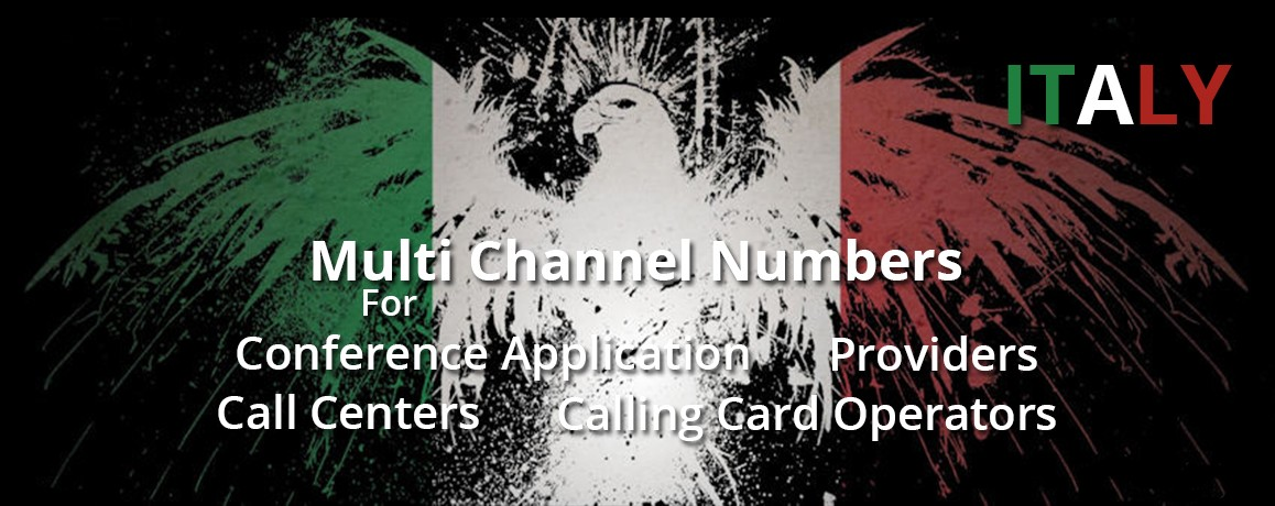 Italy Numbers with unlimited channels| NO Local Address Proof