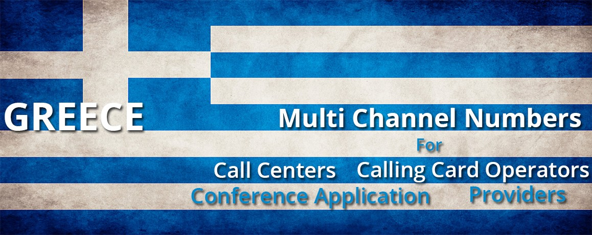 Greece Numbers |Unlimited Channels | No Local Address Proof