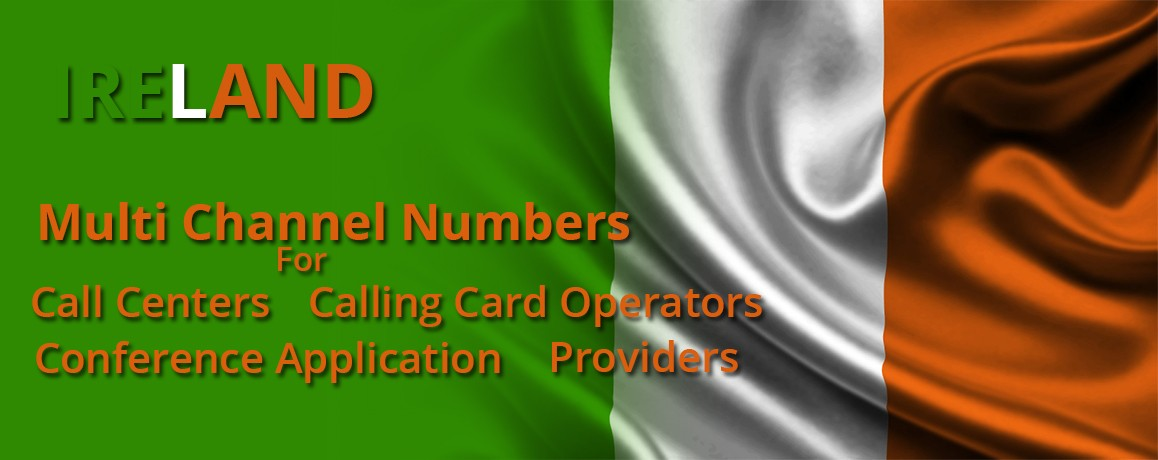 Ireland DID Number unlimitedChannels | No Local Address Proof