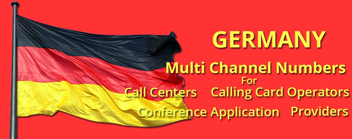 Germany DIDNumbers|Unlimited channels | No Local  Address Proof