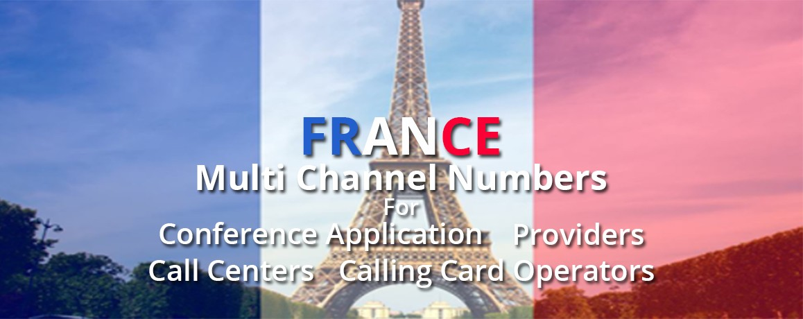 France DID Numbers with unlimited channels |Paris Virtual PRI France |No Local Address Proof